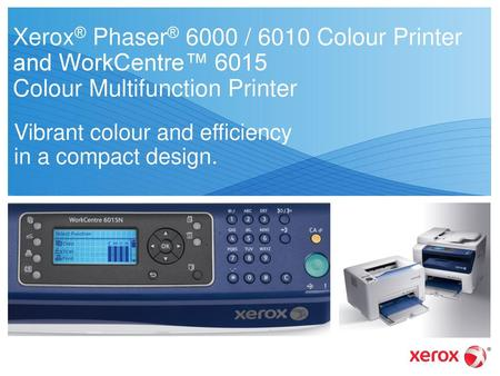 WorkCentre® 5222 / 5225 / 5230 Multifunction System - ppt video