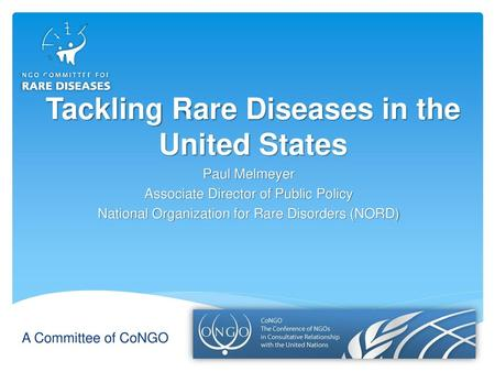 Creating action with information: The Rare Disease Community