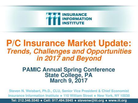President's Report Insurance Information Institute - ppt
