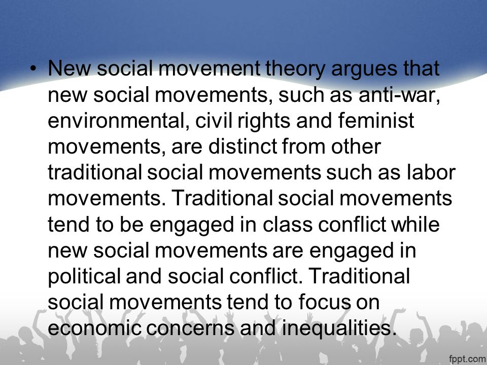 New Social Movement Theory