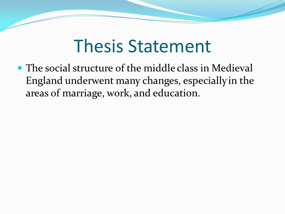 thesis on marriage