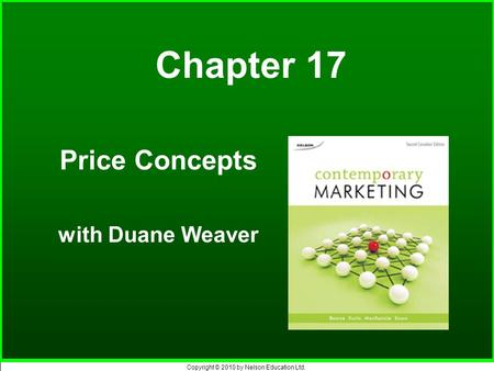 Price Concepts with Duane Weaver