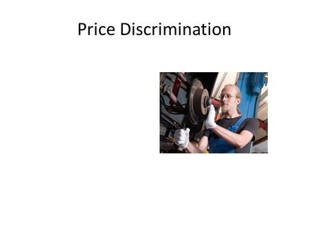 Price Discrimination Students at Sherwood High in Sandy Springs, Maryland talk about things that bother them.