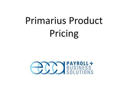 Primarius Product Pricing. There are three basic Product Categories of food or non-foods – Donated – Purchased – USDA Base Price = What the Agency pays.