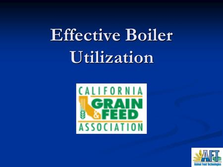 Effective Boiler Utilization. Why go to all the trouble ? Steam is an easy method for transferring heat energy from a heat source to a heat load. Steam.