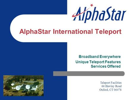 AlphaStar International Teleport