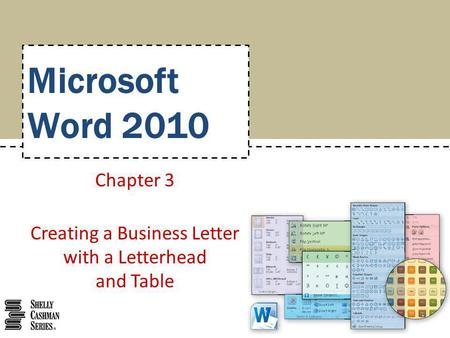 Chapter 3 creating a business letter with a letterhead and table chapter 3 creating a business letter with a letterhead and table spiritdancerdesigns Images