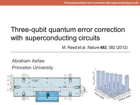 Three-qubit quantum error correction with superconducting circuits