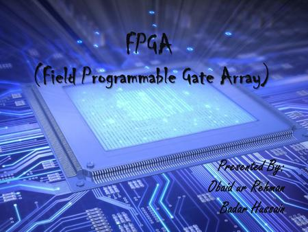 FPGA (Field Programmable Gate Array)