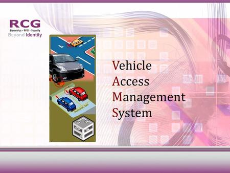 Vehicle Access Management System Smart Parking System.