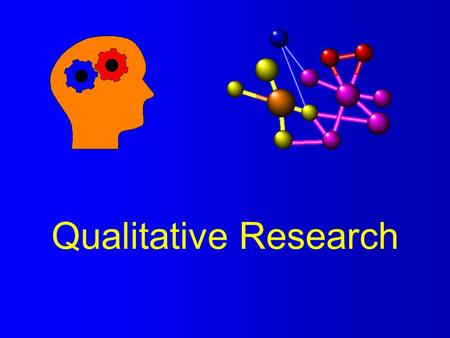 Qualitative Research. Definitions l Quantitative Research - investigation in which the researcher attempts to understand some larger reality by isolating.