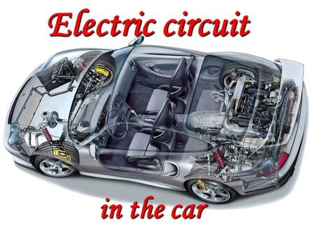 Electric circuit in the car. Under supervision Of Prof. DR/ Saad Abd El Hamid.