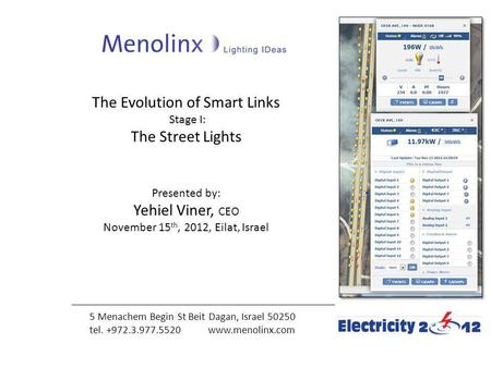 The Evolution of Smart Links The Street Lights