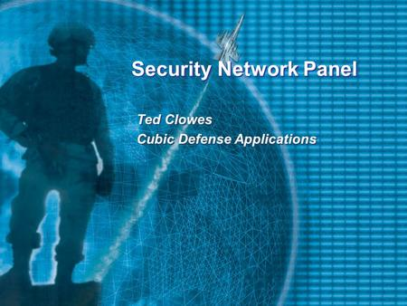 Security Network Panel