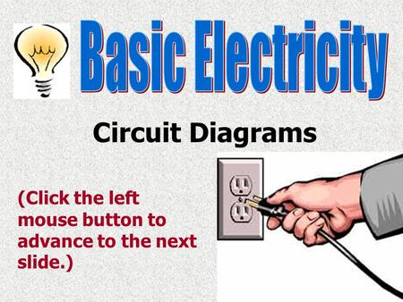 Circuit Diagrams Basic Electricity