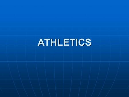 ATHLETICS. STRUCTURE OF ASA ASA consists of 17 provincial members and several associate members. ASA consists of 17 provincial members and several associate.
