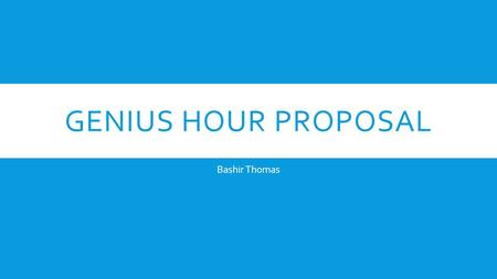 GENIUS HOUR PROPOSAL Bashir Thomas. TOP FIVE 1. Knicks- Will they win the championship ? 2. Broncos- Will they go back to the championship ? 3. Carmelo-Will.