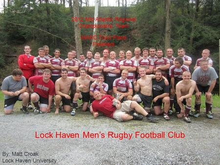 Lock Haven Men's Rugby Football Club