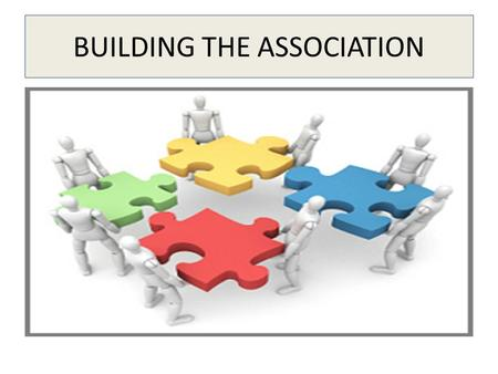 BUILDING THE ASSOCIATION. Defining Your Business Identity YOU Who you are What you like What you want WHAT YOU SELL What it is or does What it costs you.