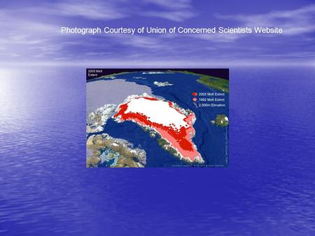 Photograph Courtesy of Union of Concerned Scientists Website.