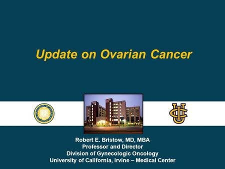 Update on Ovarian Cancer