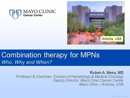 Combination therapy for MPNs
