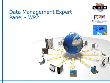 Data Management Expert Panel - WP2. WP2 Overview.