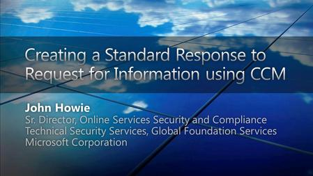 2 3 Global Foundation Services Security Global Delivery Sustainability Infrastructure.