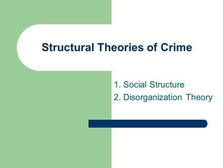 City Of God Theory Social Strain