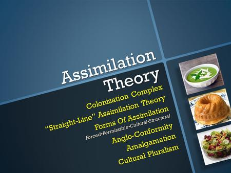 Assimilation Theory Colonization Complex