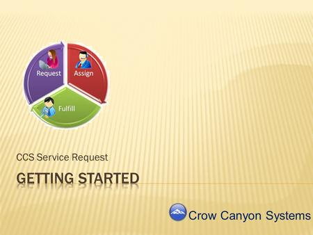 CCS Service Request Crow Canyon Systems Installation Folder Structure Setup and Configuration Initial Service Request Process Listen For more information.