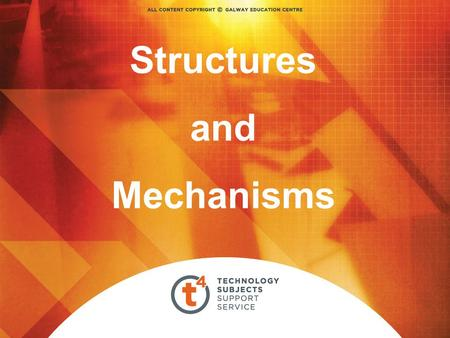 Structures and Mechanisms.