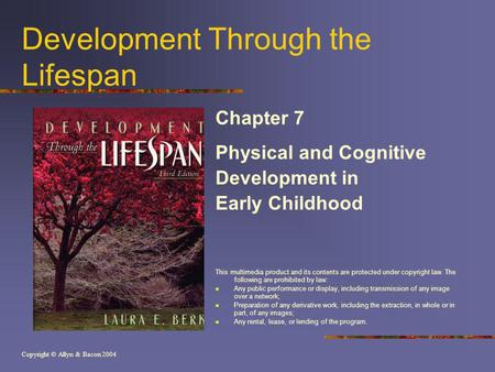 Development Through the Lifespan