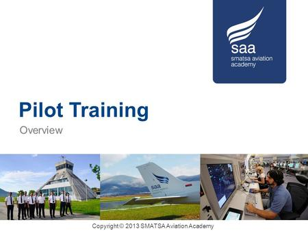 Pilot Training Overview.