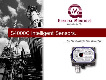 … for Combustible Gas Detection S4000C Intelligent Sensors..