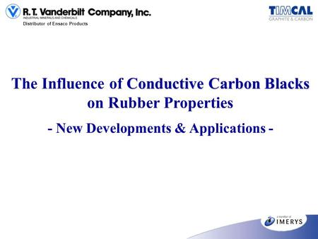 The Influence of Conductive Carbon Blacks on Rubber Properties