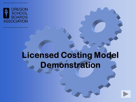 Licensed Costing Model Demonstration. What is it? Spreadsheet model Calculates total compensation over multiple years Create What-If scenarios When this.