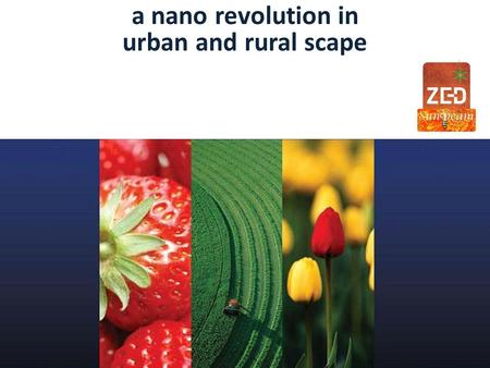 a nano revolution in urban and rural scape