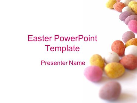 Easter PowerPoint Template Presenter Name. # Example Bullet Point Slide Bullet point –Sub Bullet.