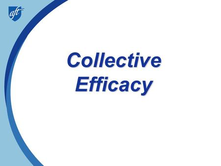 Collective Efficacy.