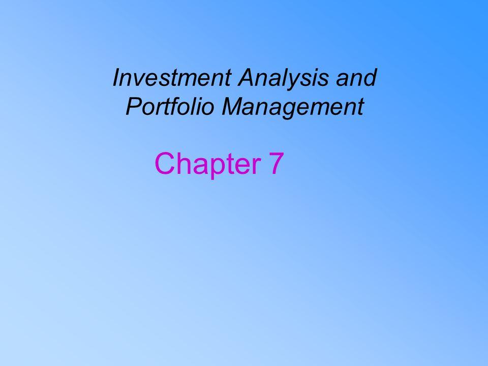 Investment analysis and portfolio management 7th edition pptp al gaz investment dubai uae
