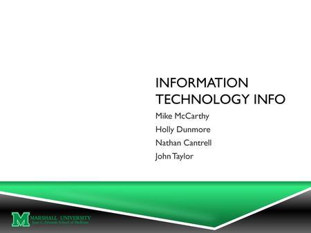 IPrint & Technology Orientation Brandon Tubinis Law Lab