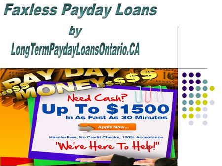 Get Short Term Loans at Paydayloan93kod org/ - ppt download