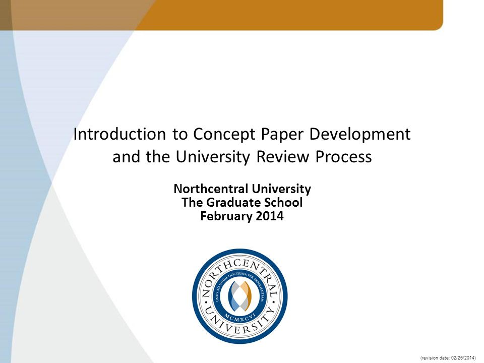 Northcentral University The Graduate School February Ppt Video Online Download Dissertation Process Proces
