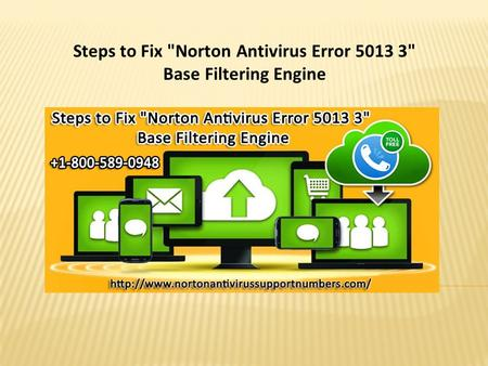 Steps to Fix Norton Antivirus Error  Base Filtering Engine.