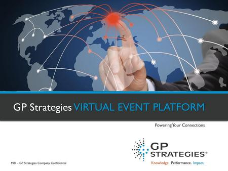 GP Strategies VIRTUAL EVENT PLATFORM