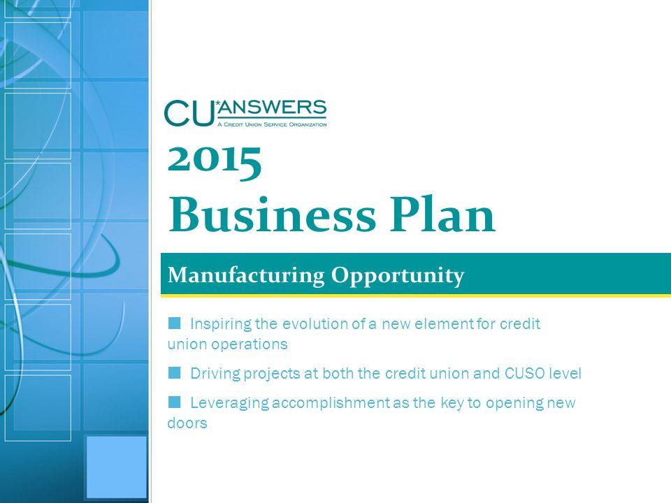 credit union business plan