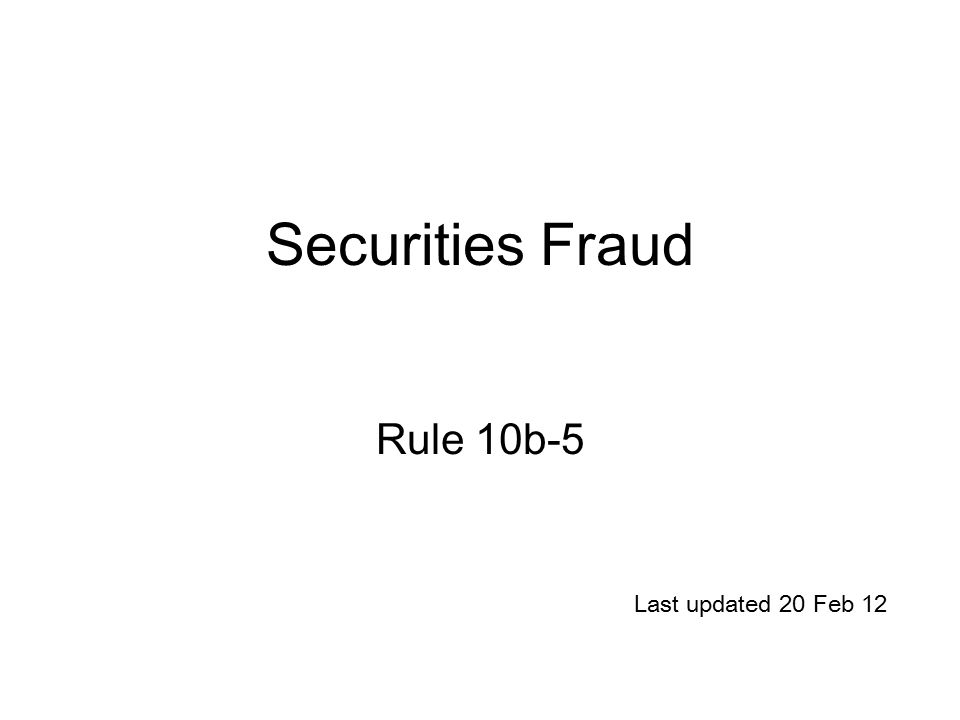 Rule 10b 5 aiding and abetting fraud spread betting strategies ftse 100 constituents
