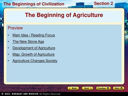 Development of Civilization - ppt video online download