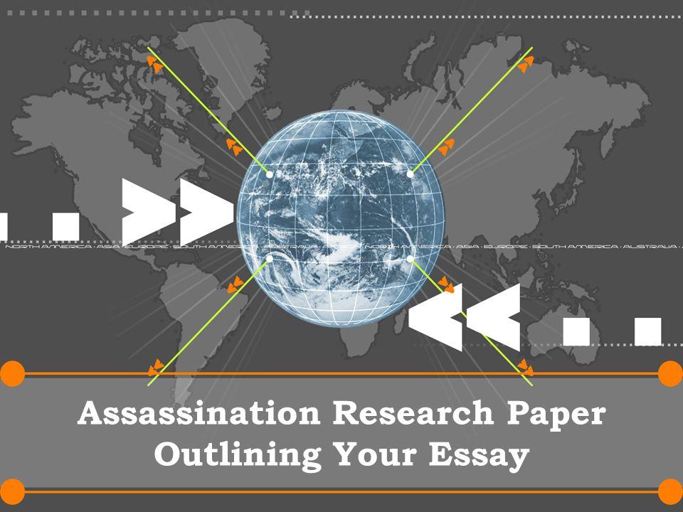 Assassination research paper business plan sponsorship sports